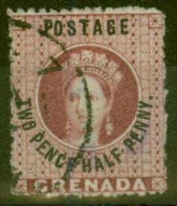 Grenada 1881 2 1/2d Claret SG25 V.F.U