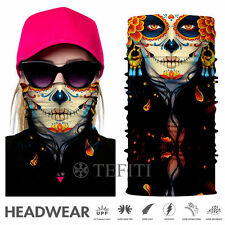 Girl Face Mask Shield Headwear Bandana Fishing Hunting Neck Gaiter Scarf Flower