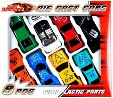 New 8 Pcs Die Cast F1 Racing Car Vehicle Play Set Street Cars Kids Boys Gift Toy