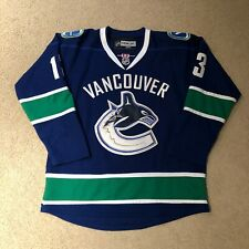 Mats Sundin Vancouver Canucks Reebok Hockey Jersey 50 Blue Like New