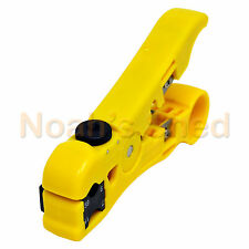 Universal Coax UTP Lan Telephone Cable Stripping Stripper Cutter Cutting Tool