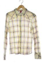 Mehrfarbige Damenblusen, - Tops & -Shirts aus Mischgewebe Normalgröße