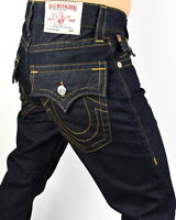 True Religion $199 Men's Hand Picked Body Rinse Straight Jeans - 101699