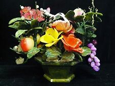REAL JADE FLOWER & FRUITS BASKET (99-11)
