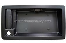 for Ford Van Outside Exterior Rear Cargo Door Handle w License Plate Holder