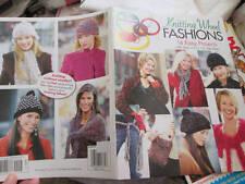 Knitting Wheel Fashions Loom Craft Book -14 Designs