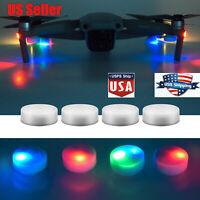 4* Night Flight LED Light Lamp Accessories For DJI Mavic Mini Air 2 Pro Drone US