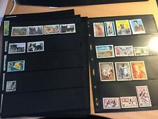Congo strong stamp collection incl good sheets used/mint/mnh on pages