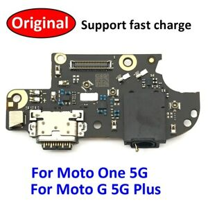 ORIGINAL MOTOROLA MOTO G 5G PLUS CHARGING PORT CONNECTOR MIC AUDIO JACK FLEX