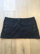 Sass and Bide Black Denim Mini Skirt Size 30