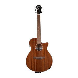 Ibanez AEG62 Acoustic Electric Guitar Natural Mahogany High Gloss