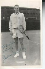 Gardnar Mulloy Autographed 1950's Photo Famed Tennis Player D.16