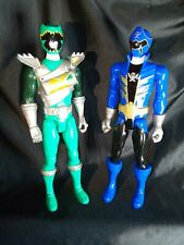 "MIGHTY MORPHIN POWER RANGERS ACTION FIGURES LOT 12"" INCHES TALL X2 TOYS."