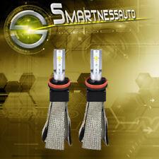 CSP Fanless H11 LED Headlight Lights for Honda Pilot Low Beam 3000K/6500K 400W