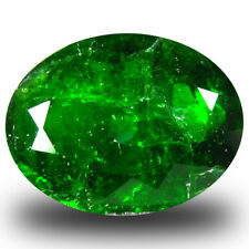 4.58 ct Amazing Oval (12 x 9 mm) Green Chrome Diopside Natural Loose Gemstone