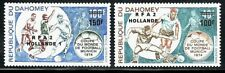 SELLOS DEPORTES FUTBOL. DAHOMEY 1974 A-221/22 2v.