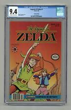 Legend of Zelda 1C Barcode On Left $1.50 Cover Price CGC 9.4 1991 1571262017