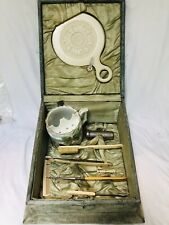 Antique Shaving Barbers Box 1878