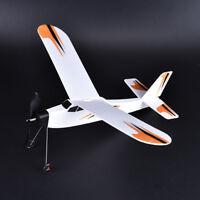 1pc schaum flugzeug gummiband power body segelflugzeug kämpfer montageXJ