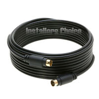 25 ft feet S-Video 4 Pin Male to Male Cable Cord Svideo Gold Plated For DVD HDTV