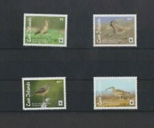 Cook Islands 2017 WWF Bristle Thighed Curlew  set MNH