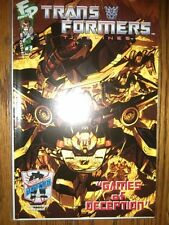 Botcon 07 Exclusive Transformers Timelines Games of Deception Comic NM Fun Press