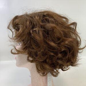 Paula Young Meryl Wig Mid Length Layered Curls Medium Auburn
