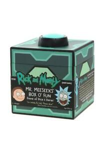 RICK AND MORTY Mr. Meeseeks' Box O' Fun Game of Dice & Dares NEW 2-6 Players