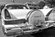 Old Photo. Lincoln Premiere 1957 Automobile - rear