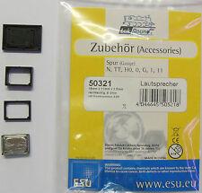 ESU 50321 - Lautsprecher 8 Ohm / 15x11x3,5mm - für Loksound V 4.0 - NEU - OVP