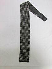 Umbria Flat/Square Bottom Mens Silk Knit Tie