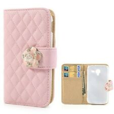 Flip Case Samsung Galaxy Ace 2​​ RHOMB BOOK Pink GT-I8160​​ Etui Business Case