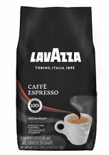 Lavazza Caffe Espresso Whole Bean Medium Roast Coffee 2.2 Pound Bag (1kg)