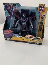Transformers Cyberverse Ultra Class Shadow Striker Stealth Sniper Shot Figure
