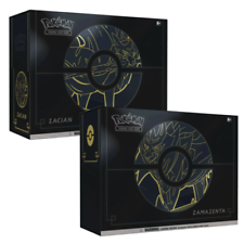 Pokemon Sword y Shield Zacian y zamazenta Ultra Premium Colección Box Set