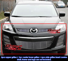 Fits Mazda CX-7 Billet Grill Combo 2010-2011