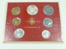 *** LIRE KMS VATIKAN 1978 BU Lira Coin Set Vaticano vor Euro Münzen ***
