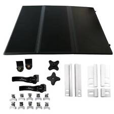 FOR Nissan Frontier 05-19 Rear 5ft bed FRP Hard Solid Tri-Fold Tonneau Cover