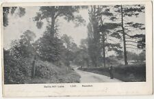 Dollis Hill Lane Neasden, London 1904 Postcard B844