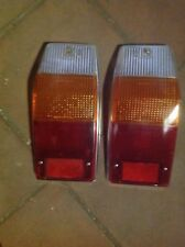 PEUGEOT 504 BREAK  COPPIA GEMME FANALI POSTERIORI REAR LAMPS OLD STOCK