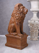 löwenwächter RENAISSANCE SCULPTURE Figure animale LION Décoration de jardin
