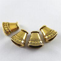 25 pcs Cone Shaped Beads End Cap Bracelet Necklace Pendant Jewelry Making 52753