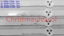 4pcs LG LED strip for 47LN5200 47LN5400 47LN5700 47LN5750 47LN5790. AGF7824080