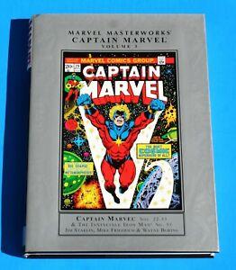 MARVEL MASTERWORKS CAPTAIN MARVEL #3 * Repr #22-33 & Iron Man #55 * Jim Starlin
