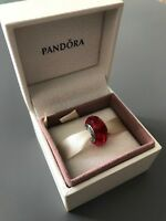 Red Faceted Genuine PANDORA murano charm