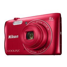 Nikon COOLPIX A300 Digital Camera (Red)