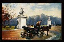 c1910 Tuck horse carriage at entrance Champs Elysees Paris France postcard