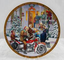 Harley Davidson Holiday Traditions 2000 Plate A Harley Christmas Carol NIB