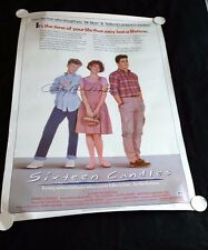 SIXTEEN CANDLES Original 27x41 Movie Poster Signed by Anthony Michael Hall w/COA