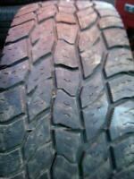 LT275/70R18 Cooper Discoverer A/T3 OWL Used 275 70 18 125 S 8/32nds